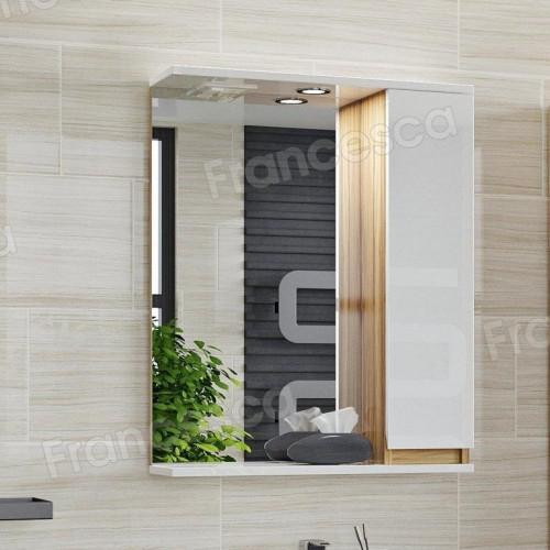Зеркало-шкаф Francesca Кристи 60 шкафчик справа