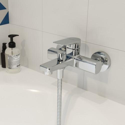 Смеситель для ванны хром Iddis Bridge BRDSB00i02WA