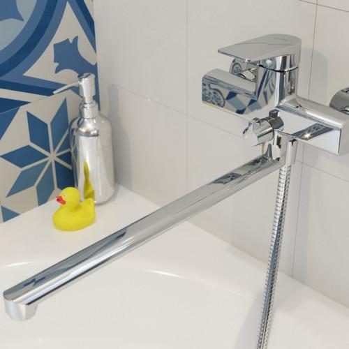 Смеситель для ванны хром Iddis Bridge BRDSB02i10WA
