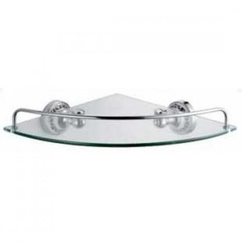 Полка стеклянная угловая Bogema FX- 78503A Fixsen