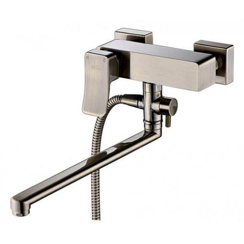 Смеситель для ванны с длинным поворотным изливом Exter 1602L WasserKraft