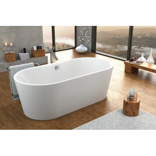 Ванна 185x90 акриловая, с цельнолитой панелью, Comodo FS Basis, Kolpa-San