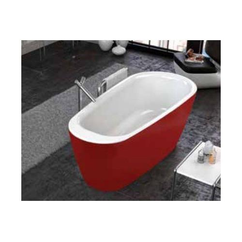 Ванна 180x80 акриловая с цельнолитой панелью, Adonis FS Basis Red, Kolpa-San