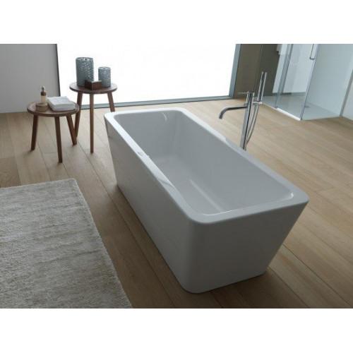 Ванна 180x80 акриловая с цельнолитой панелью, Eroica FS Basis, Kolpa-San