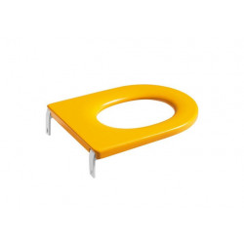 """Сиденье """"HAPPENING"""" для детского унитаза антибактериальное желтое, ROCA 801116714"""