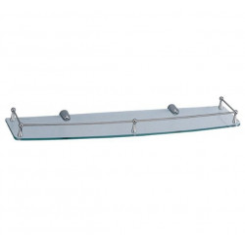 Полка для ванной стеклянная К-555 Wasser Kraft