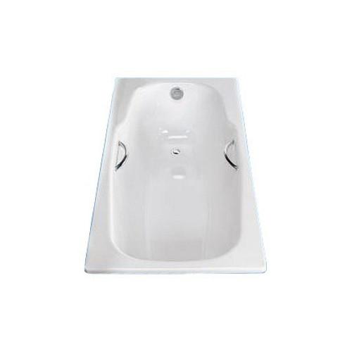 """Ванна стальная 180x80 BLB """"Atlantica HG"""", сталь 3,5мм, с шумоизоляцией, с отв.для ручек, B80J handles"""