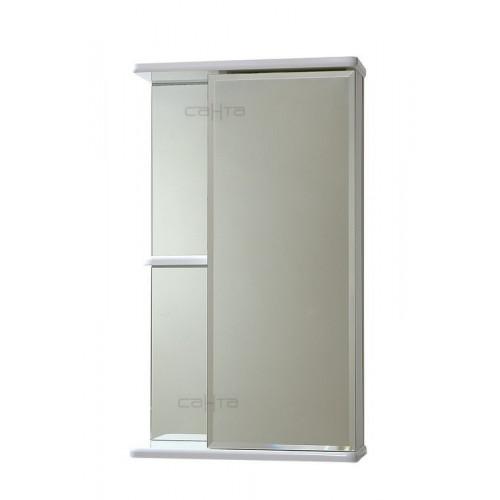 """Зеркало """"Ника 50"""" белый, правый, СаНта"""