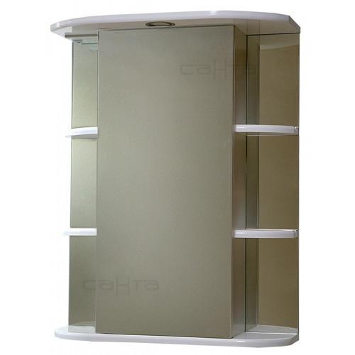 "Зеркало ""Герда 60"" свет, белый, СаНта"