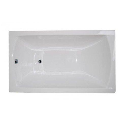 Ванна акриловая 120x70 прямоугольная 1MarKa Modern