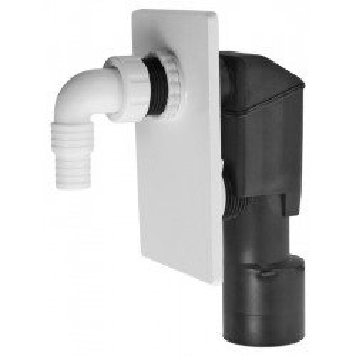 APS4 Сифон для стиральной машины под штукатурку белый Alca Plast