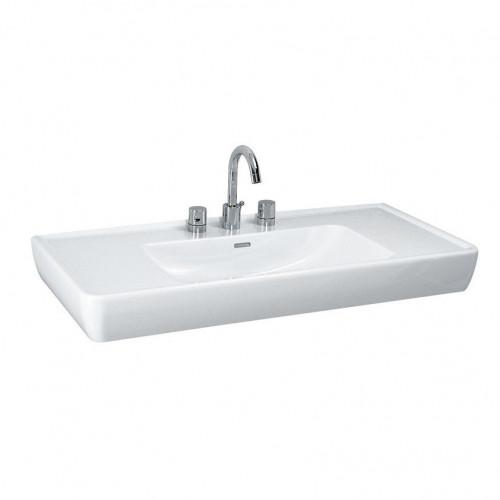 Раковина 105 см Laufen Pro 1395.8.000.104.1 накладная Цвет: Белый