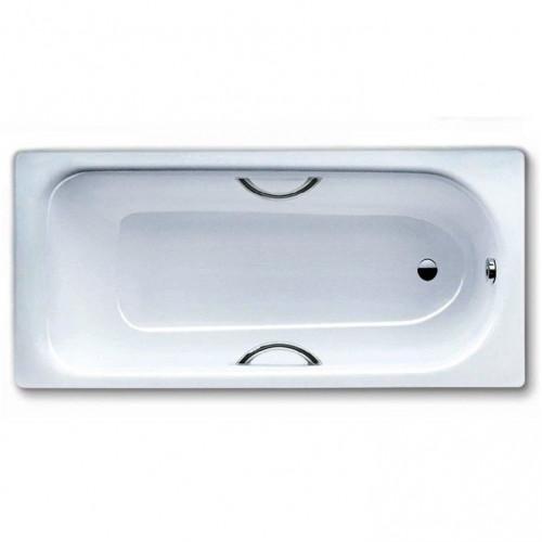 Стальная ванна 180х80 Saniform Plus Star MOD 337, Perleffect, с отверстием для ручек, Kaldewei