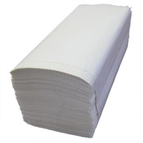Листовые бумажные полотенца. Однослойные, V-сложения.