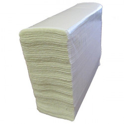 Листовые бумажные полотенца. Двухслойные, Z-сложения.