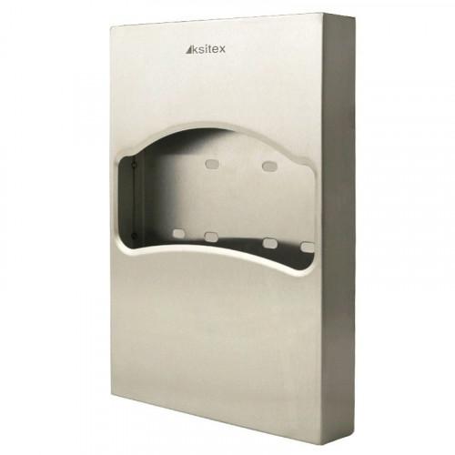 Диспенсер гигиенических покрытий для унитаза (1/4 сложения) нержавеющая сталь Ksitex.