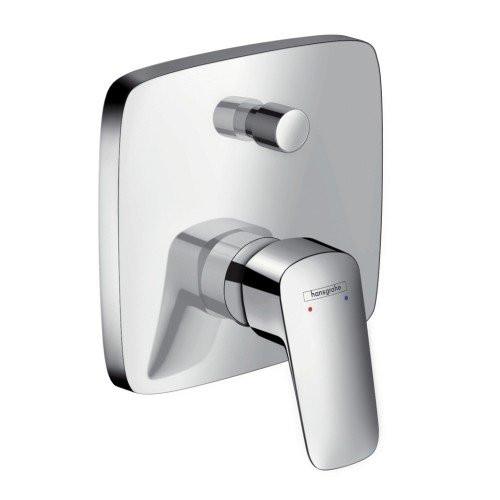 Смеситель для ванны однорычажный, внешняя часть, Logis, Hansgrohe 71405000