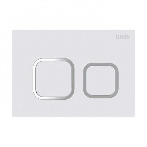 Клавиша смыва, матовый белый Iddis, Unifix UNI32MWi77