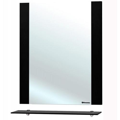 Рокко-60 зеркало с полкой, 58 см, белое, Bellezza