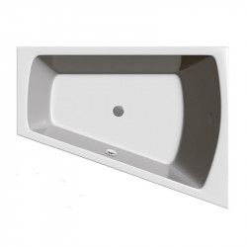 Ванна акриловая 170x130см Vayer Trinity асимметричная правая