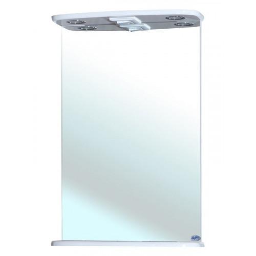 Зеркало, 50 см, белое, Магнолия-50, Bellezza