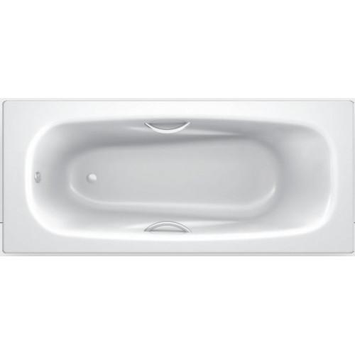 """Ванна стальная 170x75 BLB """"Universal Anatomica"""" c шумоизоляцией и отверстиями для ручек"""