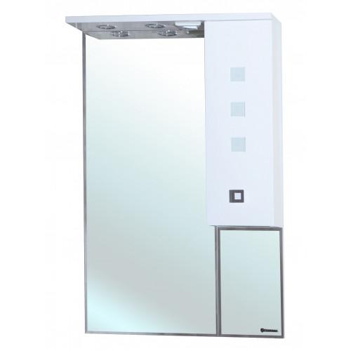 Натали-60 зеркало шкаф, 60 см, белое, левое, правое, Bellezza