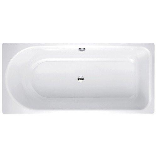 Ванна с шумоизоляцией, отврст. д/ручки и двумя покрытиями, перелив сзади BETTE Ocean 180x80
