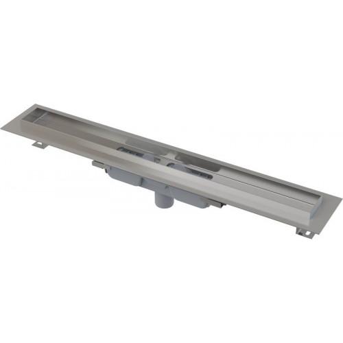 APZ106 Professional Low водоотводящий желоб 1150мм с порогами для решетки с горизонтальным стоком.