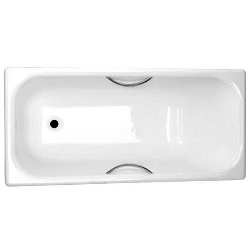 Ванна чугунная 150x70 Ностальжи У, с отверстиями для ручек, Новокузнецк