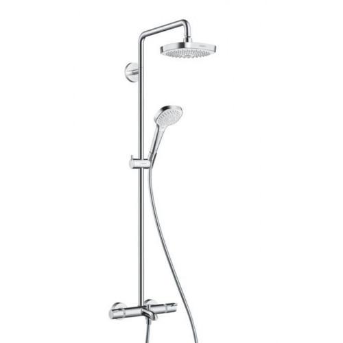 Душевая система с термостатом Croma Select E 180 2jet Showerpipe, Hansgrohe