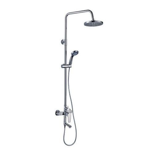 Смеситель для ванны и душа с верхней душевой лейкой, с гарнитуром, S - серия, Rossinka