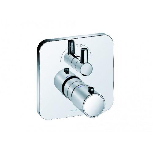 Смеситель для ванны и душа с термостатом встраиваемый, E2, Kludi