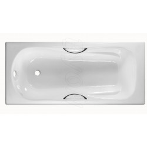 Ванна чугунная BYON B13 170x70x42 см с ручками