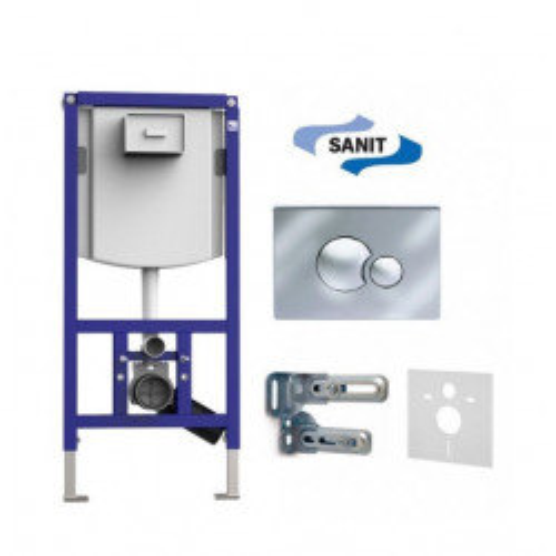 Инсталляция для унитаза (4 в 1) Sanit INEO PLUS 90.721.00..S002