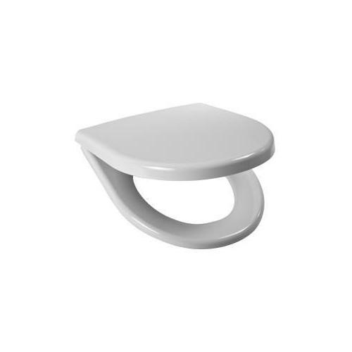 Сидение для унитаза Lyra Plus с микролифтом, петли пластик, Jika