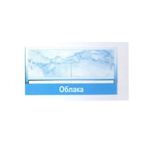 Экран для ванны легкий 1.7м. облака