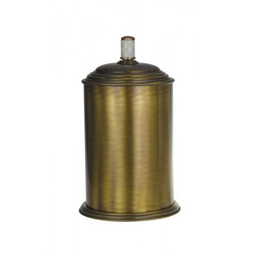 Ведро металл Boheme Murano золтое с белым 10907-W-G