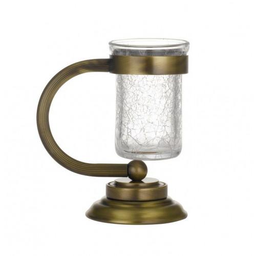 Настольный стакан для зубных щеток стекло Boheme Murano бронза 10911-BR