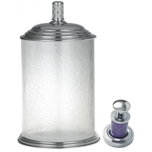 Ведро стекло Boheme Murano хром фиалка 10914-V-CR