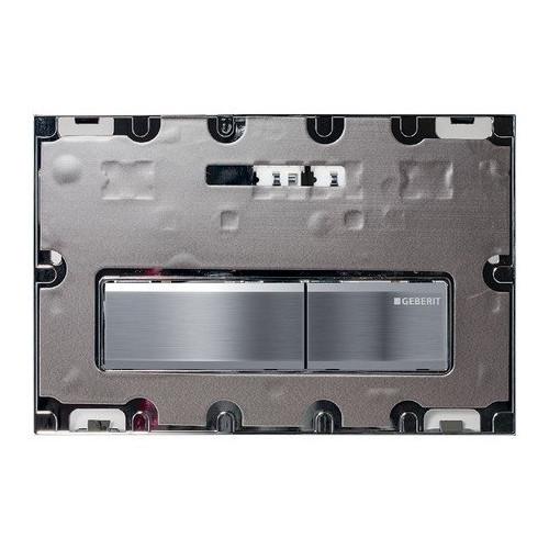 Смывная клавиша, двойной смыв, без вкладыша/цинковое литье, Sigma50, Geberit