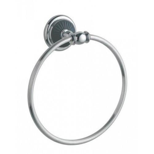 Держатель для полотенца кольцо Boheme  Palazzo Nero золото с черным 10155