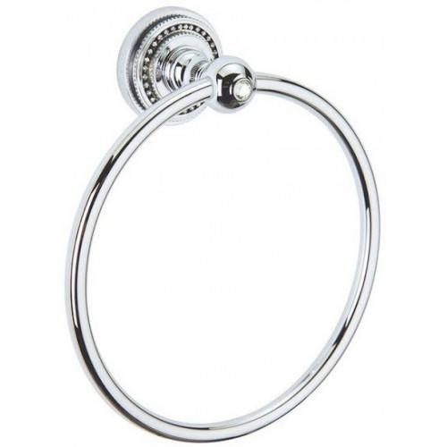 Держатель для полотенца кольцо Boheme Imperiale золто 10405