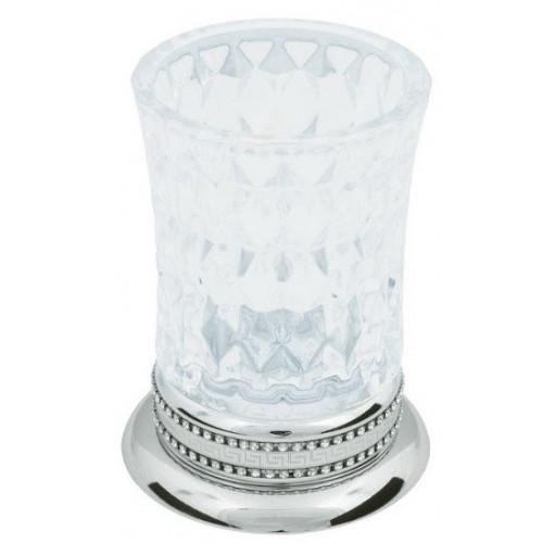 Настольный стакан для зубных щеток стекло Boheme Imperiale золото 10412