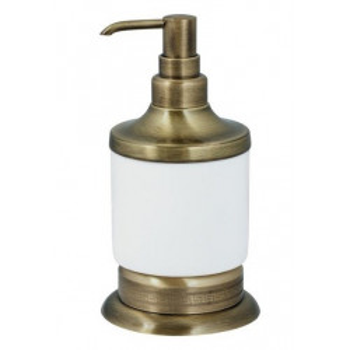 Настольный дозатор для жидкого мыла Boheme Murano бронза 10909-BR