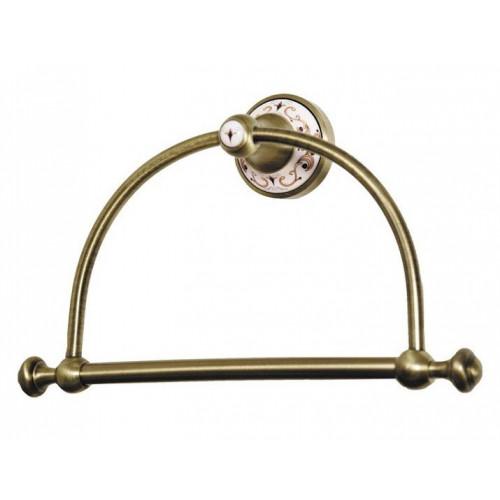 Держатель для полотенца кольцо Boheme Provanse бронза 10805