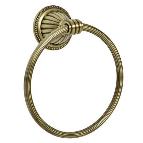 Держатель для полотенца кольцо Boheme Medici бронза 10605