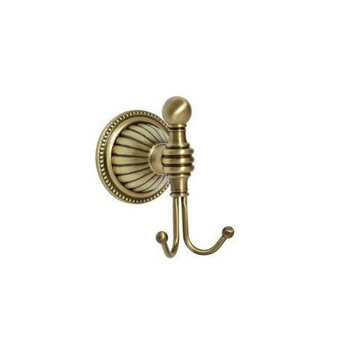 Крючок двойной Boheme Medici бронза 10606