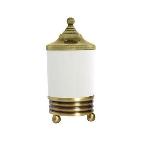 Настольный стакан для косметических принадлежностей Boheme Hermitage бронза 10334