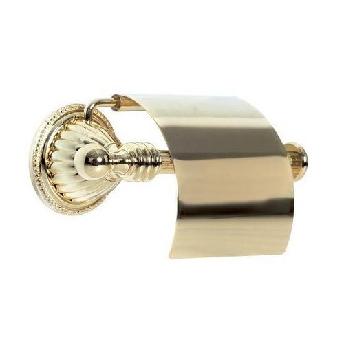 Держатель для туалетной бумаги с крышкой Boheme Hermitage бронза 10320